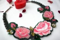 Колье «Розы Валентина»