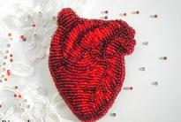 вышиваем сердце