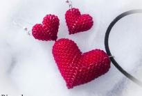 Комплект Сердечки