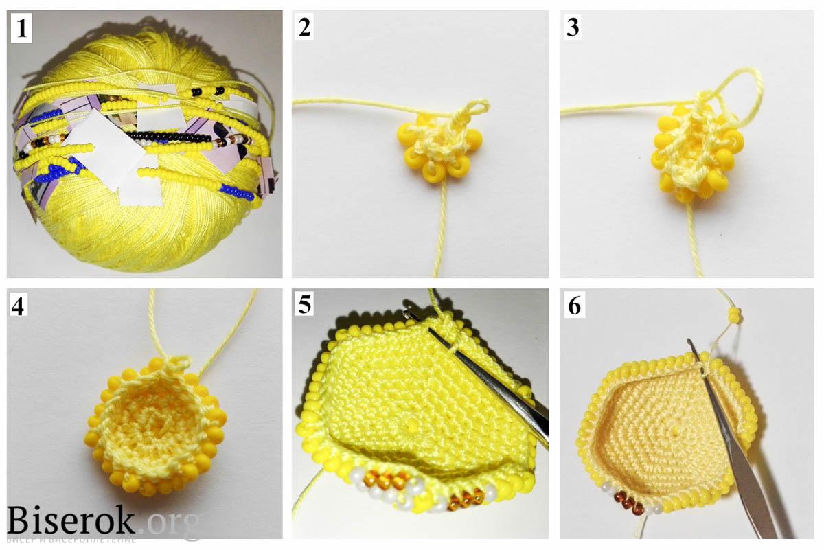 Схема миньон для вязания