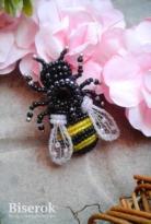 Брошь «Пчёлка»