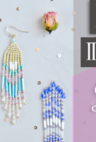 Бисероплетение Серьги С Бахромой – Tutorial:  Fringe Beaded Earrings